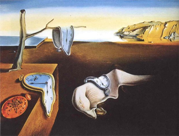 the-persistence-of-memory, by Salvator Dali, 1931